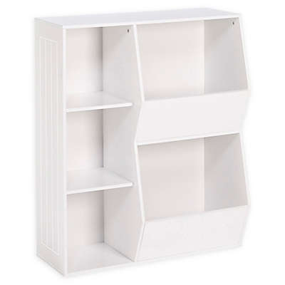RiverRidge 3-Cubby, 2-Veggie Bin Cabinet for Kids