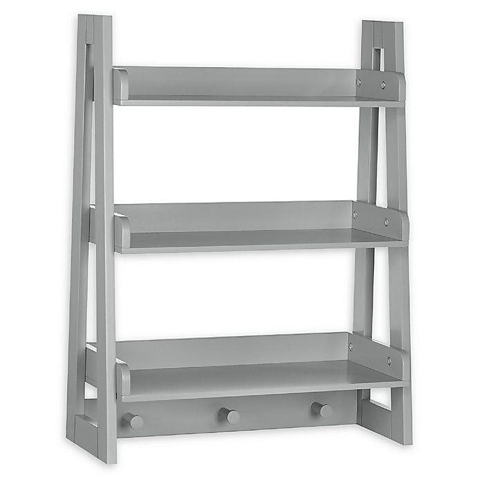 Alternate image 1 for RiverRidge Kid's Ladder Wall Shelf
