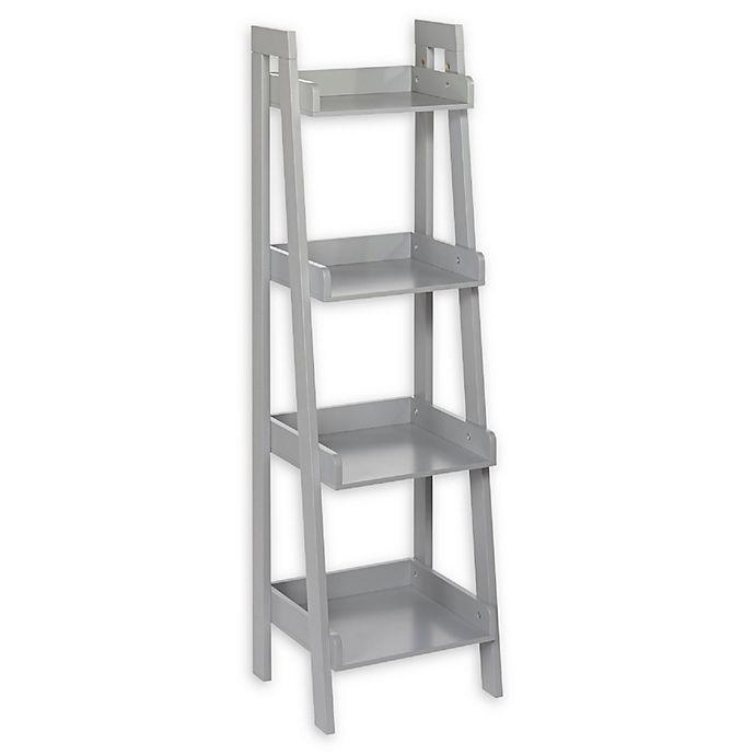 Alternate image 1 for RiverRidge Home  Kid's 4-Tier Ladder Wall Shelf
