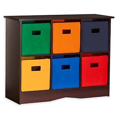 RiverRidge 6-Bin Kid's Storage Cabinet