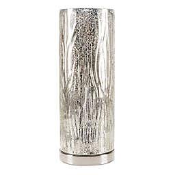 Lavish Home Table Lamp in Silver