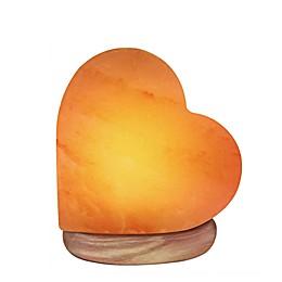 Himalayan Glow® Heart-Shaped Salt Lamp