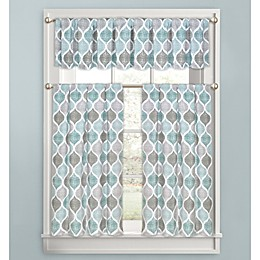 Priya Ogee Bath Window Curtain Collection