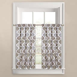 Priya Ogee 45 Inch Window Curtain Tier Pair