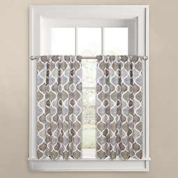 Priya Ogee 45-Inch Window Curtain Tier Pair