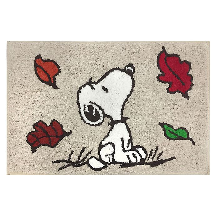 Peanuts Harvest Bath Rug Collection