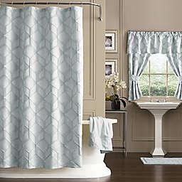 Horizons Geometric Shower Curtain
