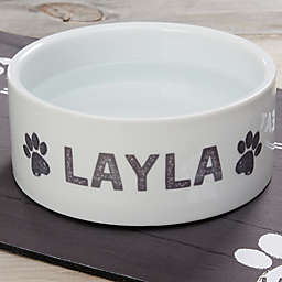 Farmhouse Pet Large Dog Bowl