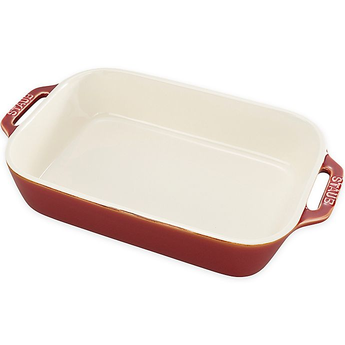 Alternate image 1 for Staub 2.5-Quart Rectangular Baker