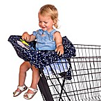 Rosie Pope® Navy Stars Shopping Cart Cover