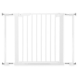 BabyDan® Premier True Pressure Fit Safety Gate in White