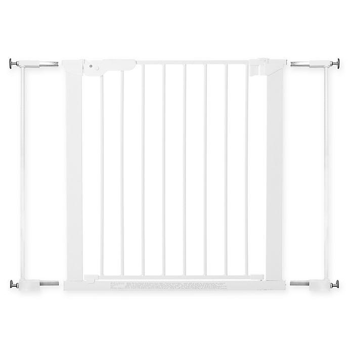 Alternate image 1 for BabyDan® Premier True Pressure Fit Safety Gate in White