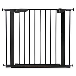 BabyDan® Premier True Pressure Fit Safety Gate in Black