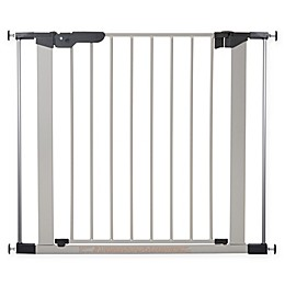 BabyDan® Premier True Pressure Fit Safety Gate in Silver