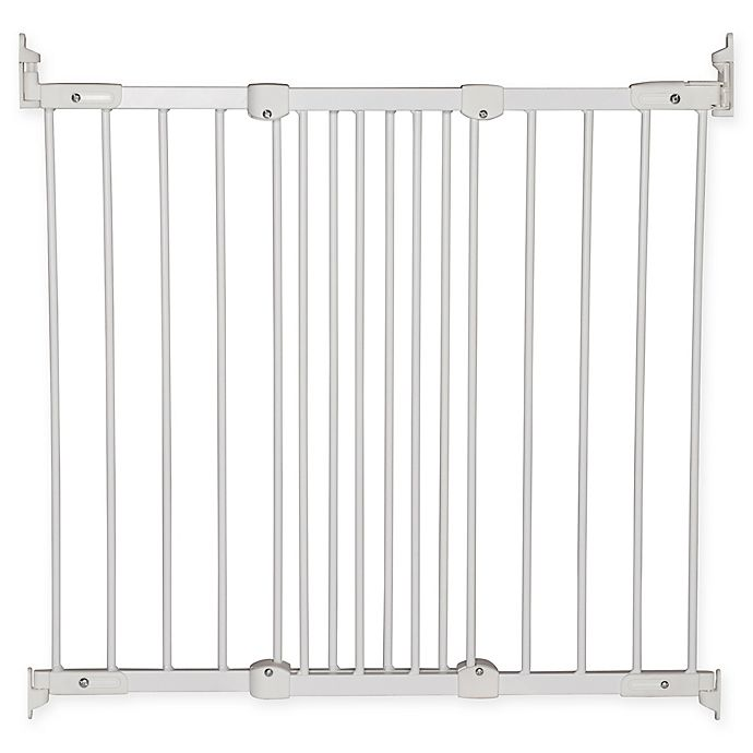 Baby Toddler Stair Gate Home Safety Extra Tall Metal Doorway Prevention Barrier