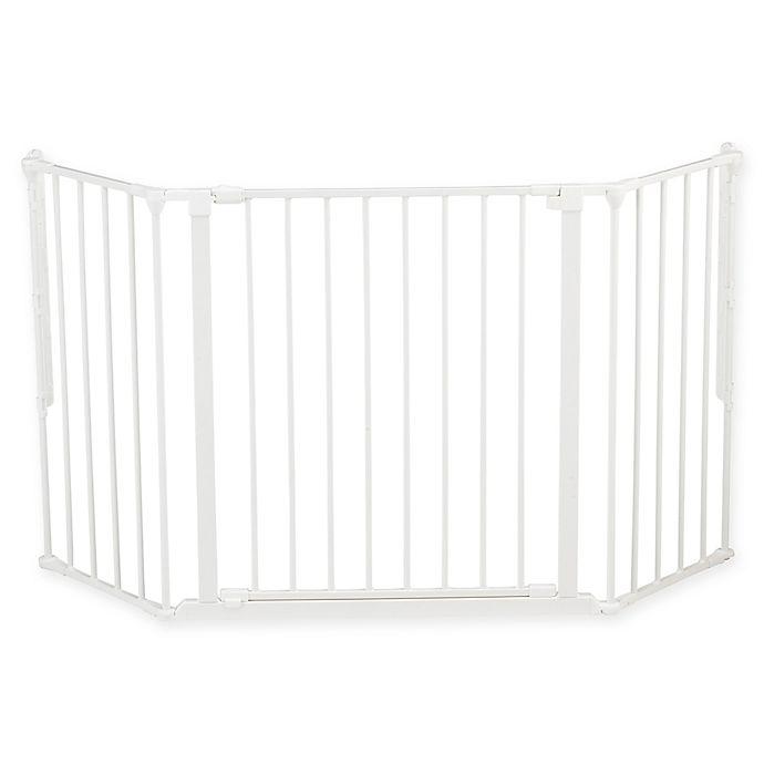 Alternate image 1 for BabyDan® FLEX Medium Safety Gate in White