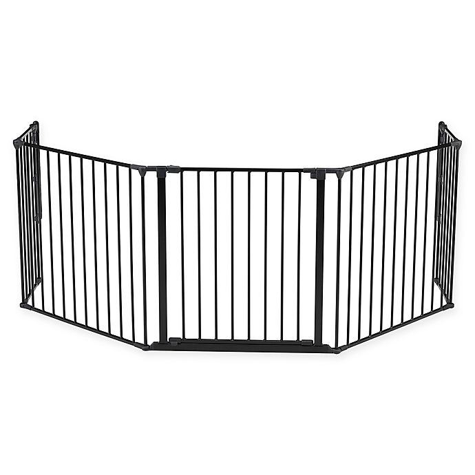 Alternate image 1 for BabyDan® FLEX Extra-Large Safety Gate in Black
