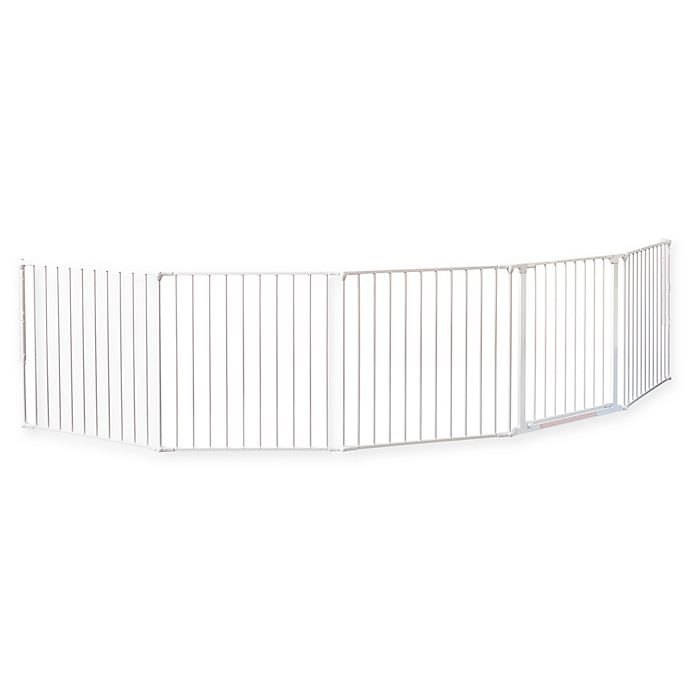 Alternate image 1 for BabyDan® FLEX Extra Extra-Large Safety Gate in White