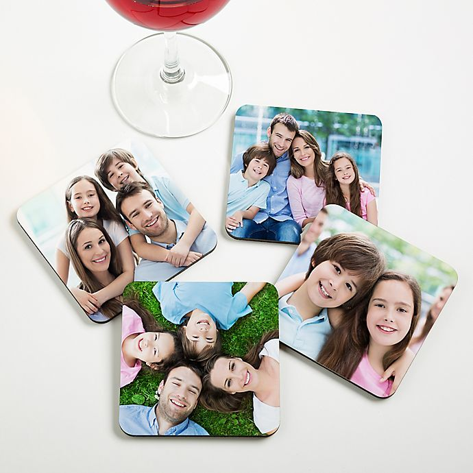Alternate image 1 for Picture Perfect Personalized Photo Coaster