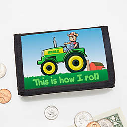 Tractor Time Personalized Wallet