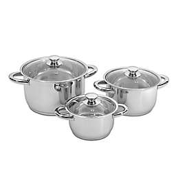 BergHOFF® Vision Stainless Steel 6-Piece Cookware Set