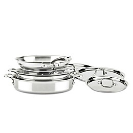 All-Clad D3 Compact Stainless Steel 7-Piece Cookware Set