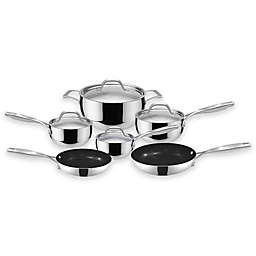 Fleischer & Wolf® Granada Tri-Ply Stainless Steel 10-Piece Cookware Set