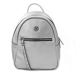 Marina Galanti Ciottoli Backpack in Silver