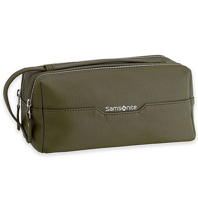 Open Window At Dusk: Samsonite® Dusk Convertible Strap Top-Zip Travel Kit