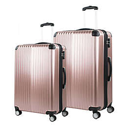 American Green Travel Melrose Hardside Spinner Checked Luggage