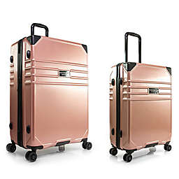 Marc New York Classic Expandable Hardside Spinner Checked Luggage