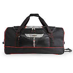 Pacific Coast 35-Inch Rolling Duffel Bag in Black