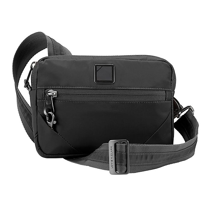 Alternate image 1 for Lewis N. Clark® Secura Anti-Theft Commuter Bag in Onyx