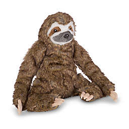 Melissa & Doug® Sloth Plush Toy