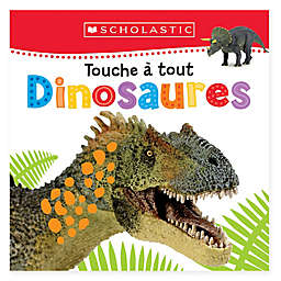 """Touche A Tout Dinosaures"" Board Book (French)"