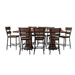 Hillsdale Furniture Jennings 9-Piece Rectangular Counter-Height Dining Set
