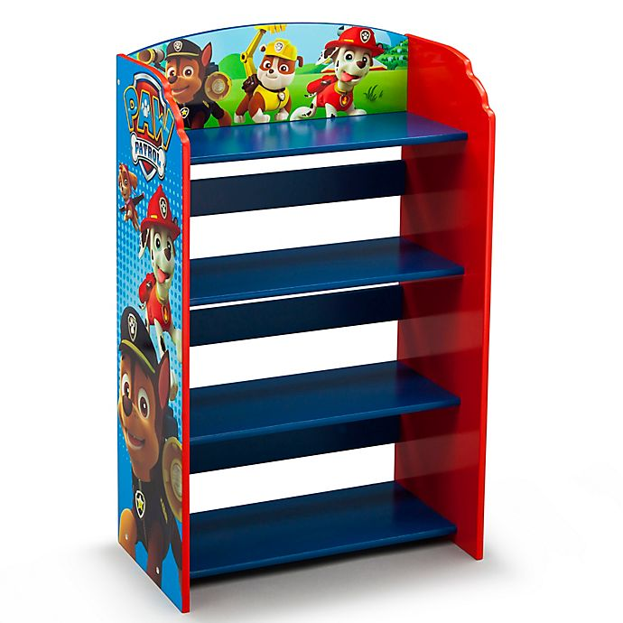Nick Jr ™ PAW Patrol 4-Shelf Bookshelf | buybuy BABY