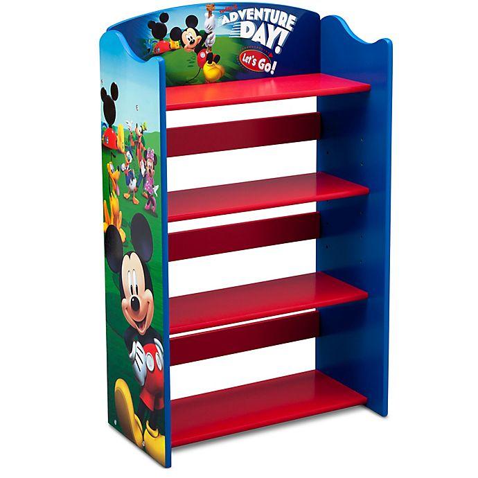 Alternate image 1 for Disney® Mickey Mouse 4-Shelf Bookshelf