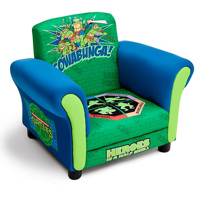 Alternate image 1 for Nickelodeon® Teenage Mutant Ninja Turtles Upholstered Chair