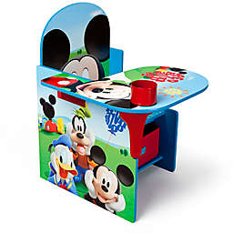 Disney® Mickey Mouse Upholstered Chair with Desk and Storage Bin