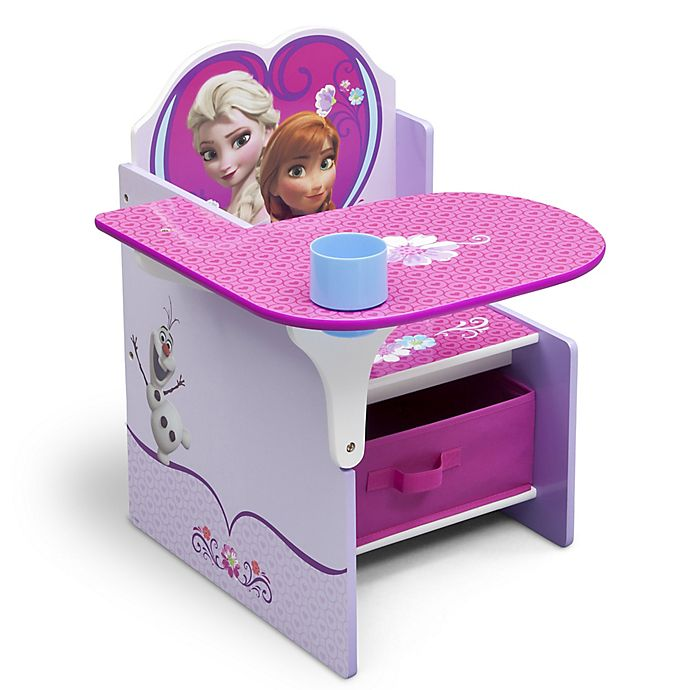 Amazing Disney Frozen Chair With Desk And Storage Bin Bed Bath Pdpeps Interior Chair Design Pdpepsorg