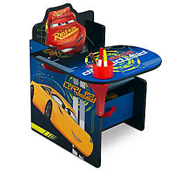 Disney® Pixar Cars Chair with Desk and Storage Bin
