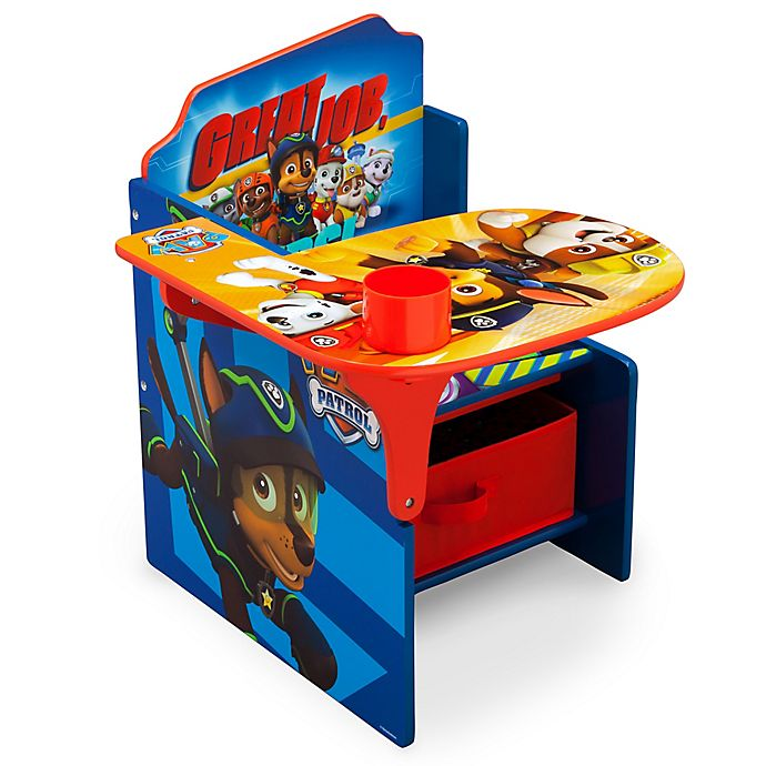 Magnificent Nickelodeon Paw Patrol Chair Desk With Storage Bin Buybuy Creativecarmelina Interior Chair Design Creativecarmelinacom