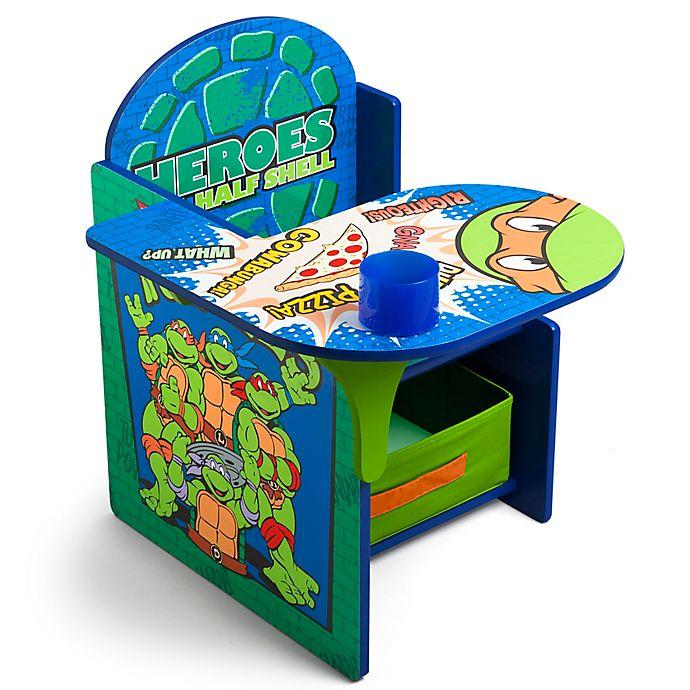 Alternate image 1 for Nickelodeon™ Teenage Mutant Ninja Turtles Chair Desk with Storage Bin