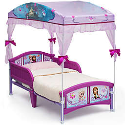 Disney® Frozen Canopy Toddler Bed in Blue