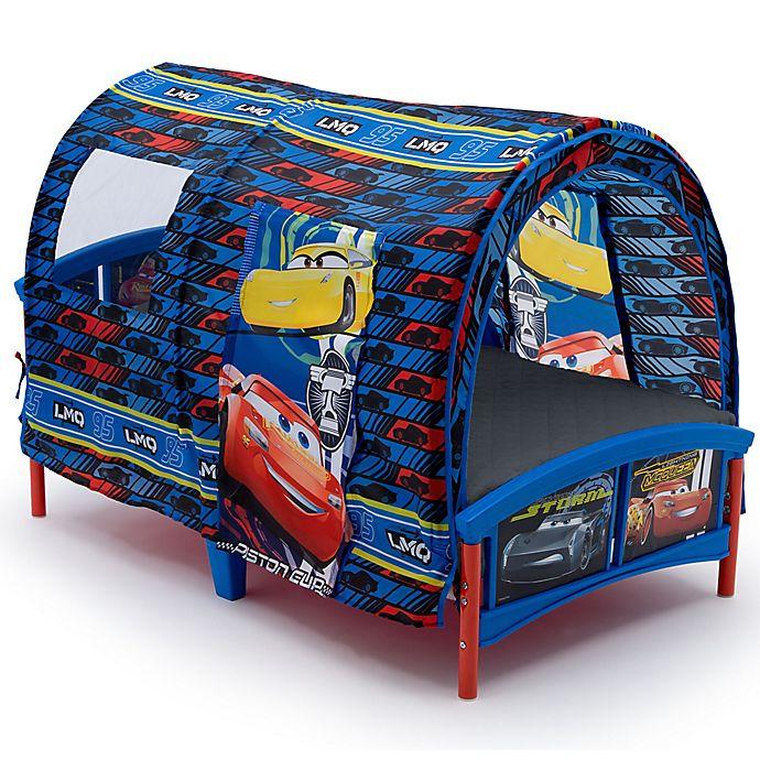 Alternate image 1 for Disney® Pixar® Cars Toddler Bed in Blue
