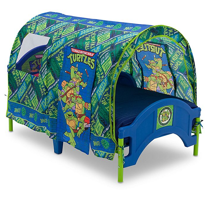 Alternate image 1 for Nickelodeon™ TMNT™ Toddler Bed in Green