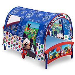 Disney® Mickey Mouse Toddler Bed in Blue