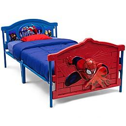 Delta Children Marvel® Spiderman Toddler Bed in Red