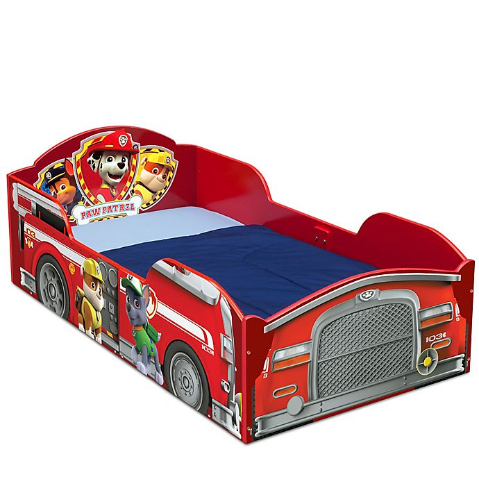Alternate image 1 for Delta Children Nickelodeon™ PAW Patrol Toddler Bed in Blue